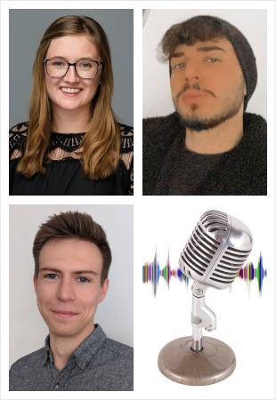 Solveig Brandt, Mehmet Ivecan und Niklas Thiedecke