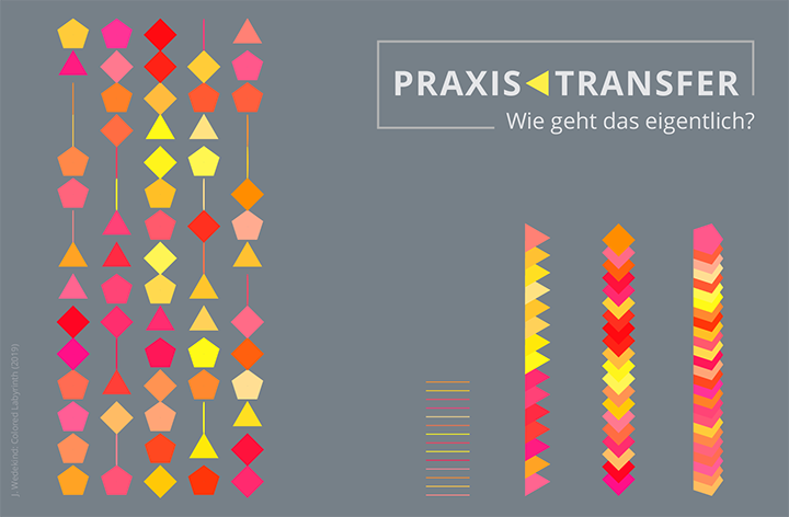 Themenspecial:  Praxistransfer – wie geht das eigentlich? (J.Wedekind: Colored Labyrinth (2019))
