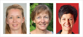 Prof. Dr. Ulrike Lucke (Univ. Potsdam), Prof. Dr. Gabi Reinmann (Univ. Hamburg), Prof. Dr. Mandy Schiefner-Rohs (TU Kaiserslautern)