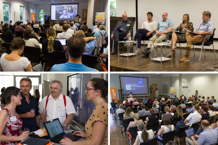 """Eindrücke von der Tagung """"Digitalisierungspraktiken und Hochschulbildung – sind wir auf dem richtigen Weg?"""