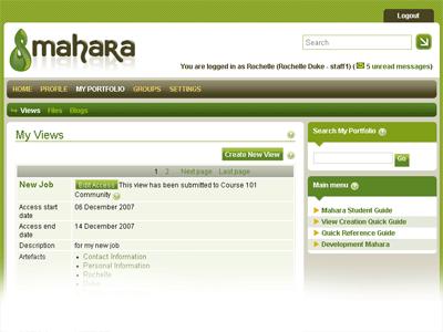 E-Portfolio Mahara